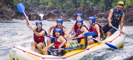 Raging Thunder, Rafting 4