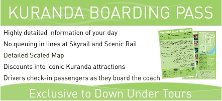 Kuranda Boarding Pass