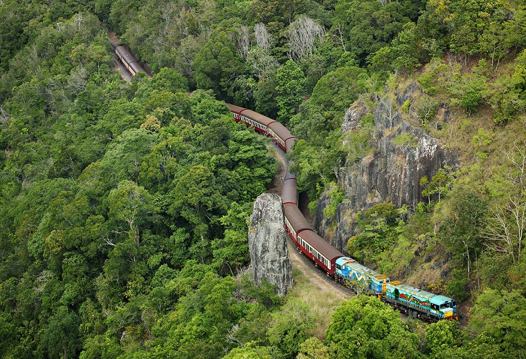 Kuranda, Scenic Rail & Skyrail