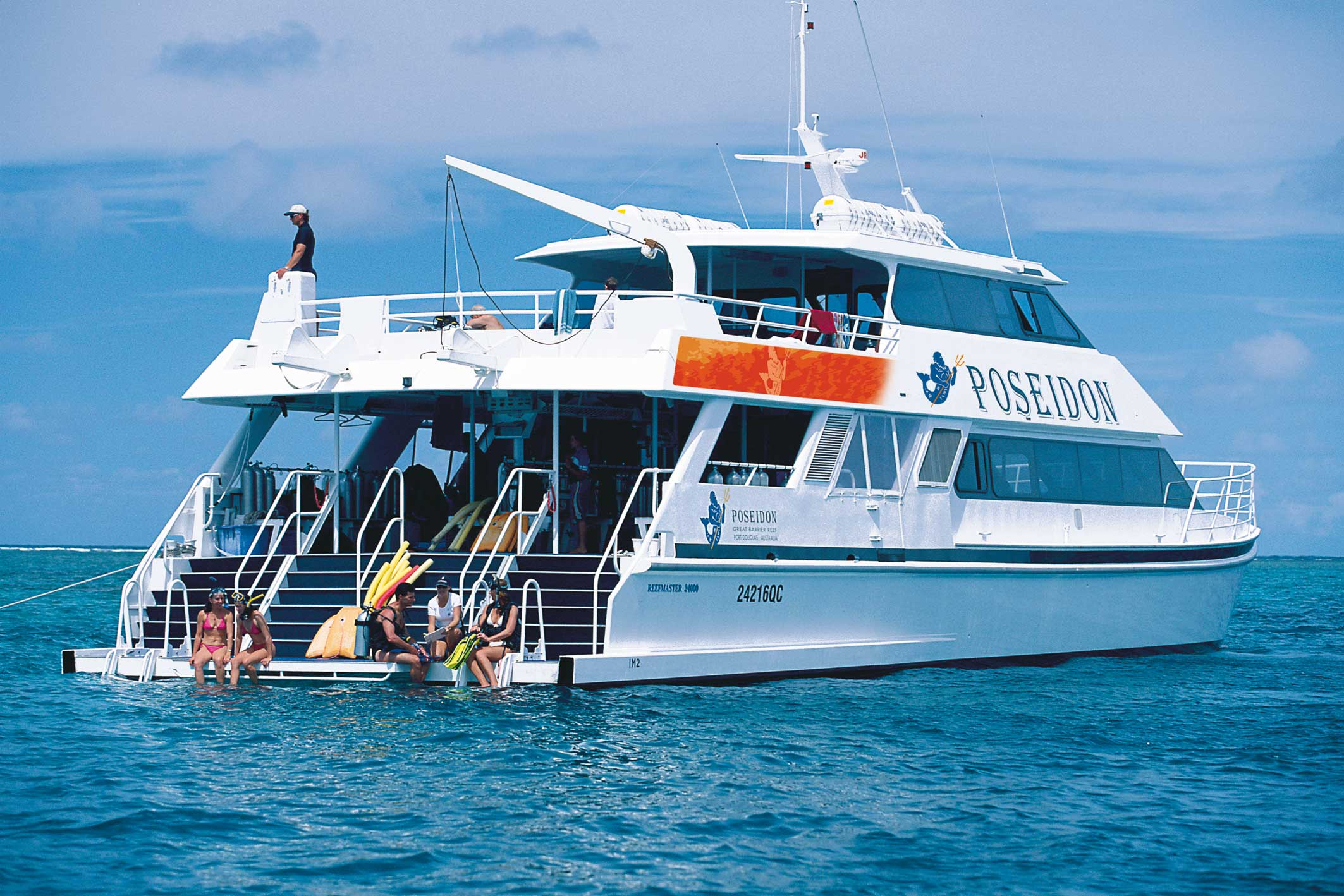 Poseidon Outer Reef Cruise Down Under Tours Down Under Tours