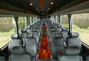 Bus Hire Interior