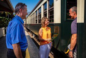 Gold Class Carriage Kuranda Scenic Rail
